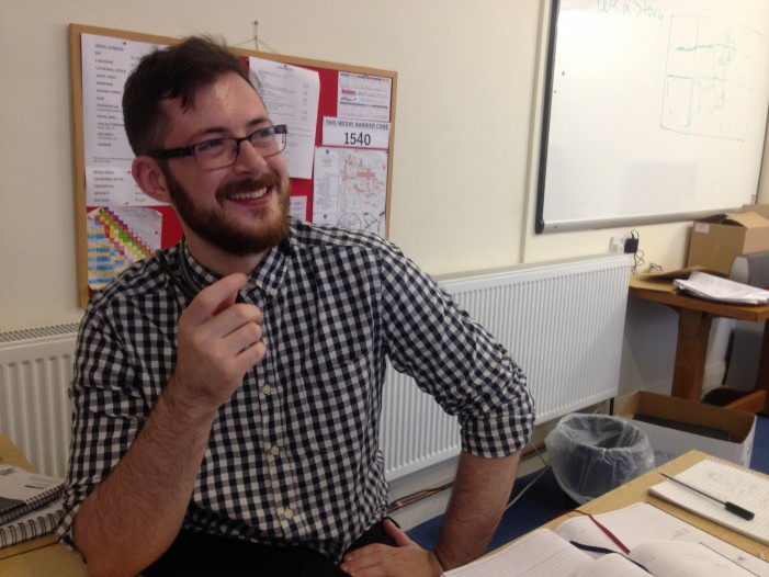 Luke Smith – Front Desk Co-ordinator