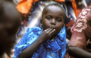 South Sudanese refugee child in Ethiopia. (Credit: Us/Leah Gordon)
