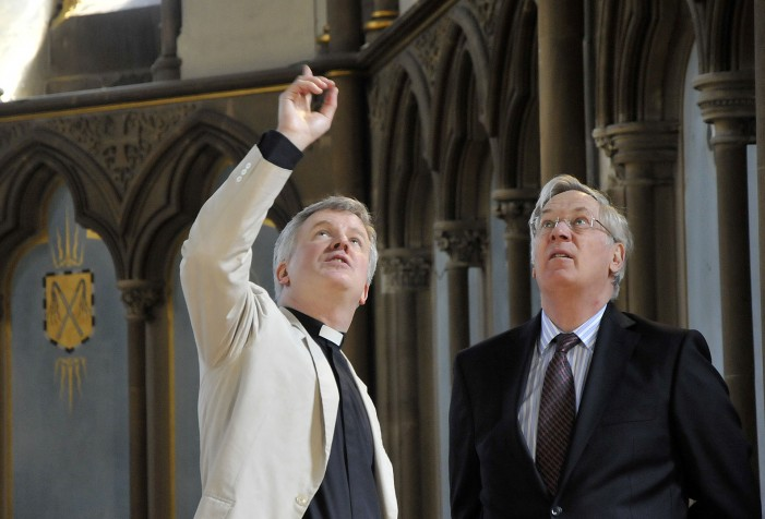 HRH The Duke of Gloucester to help find the UK's best church architecture