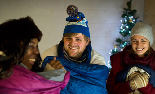 Church Urban Fund launches Advent Sleepout challenge