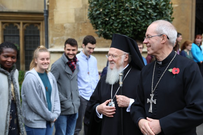 """""""It's not too late to act,"""" says Ecumenical Patriarch Bartholomew"""