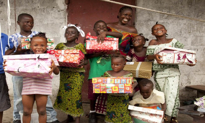 Samaritan's Purse launches 'One in A million' operation christmas child campaign