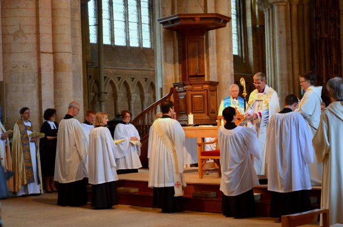 Ordination of deacons and priests welcomed as 'occasion of joy' for the Church of England