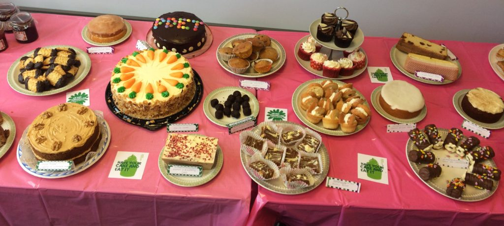 Bouverie Court Coffee Morning goodies