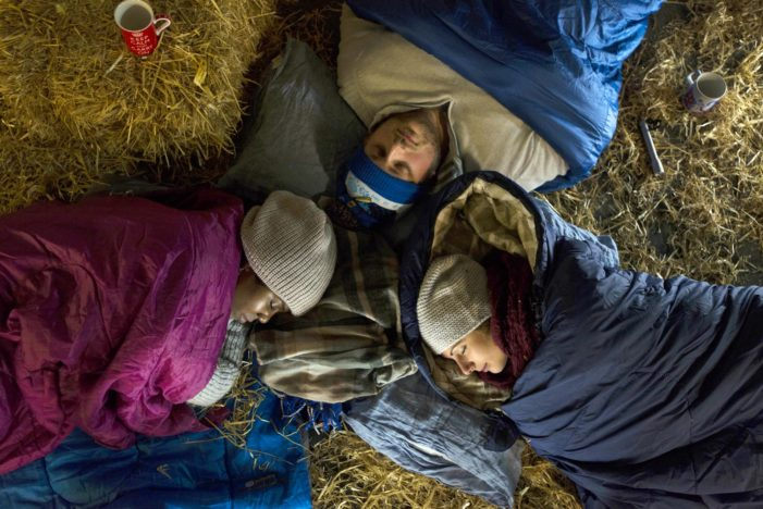 Church Urban Fund's Advent sleep out challenge