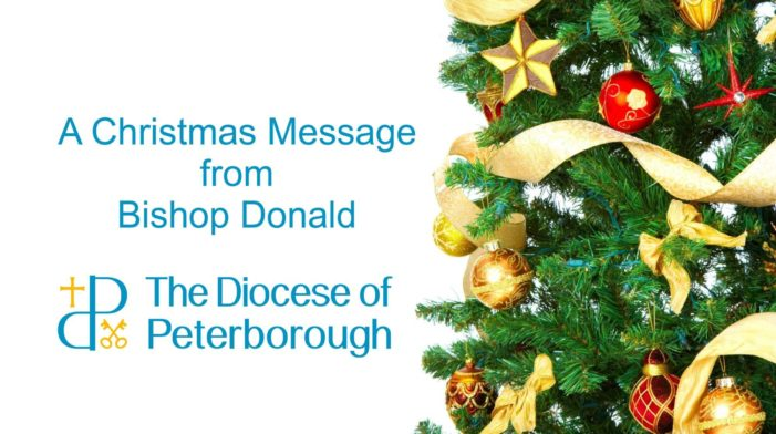 Bishop Donald's Christmas message for 2016
