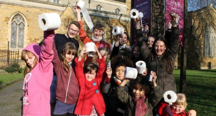 Northampton Children Raise Over £900 for Toilets in the Developing World