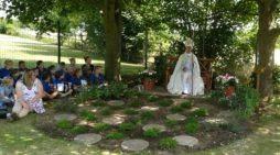 Bishop John's visit to Exton Prayer Garden