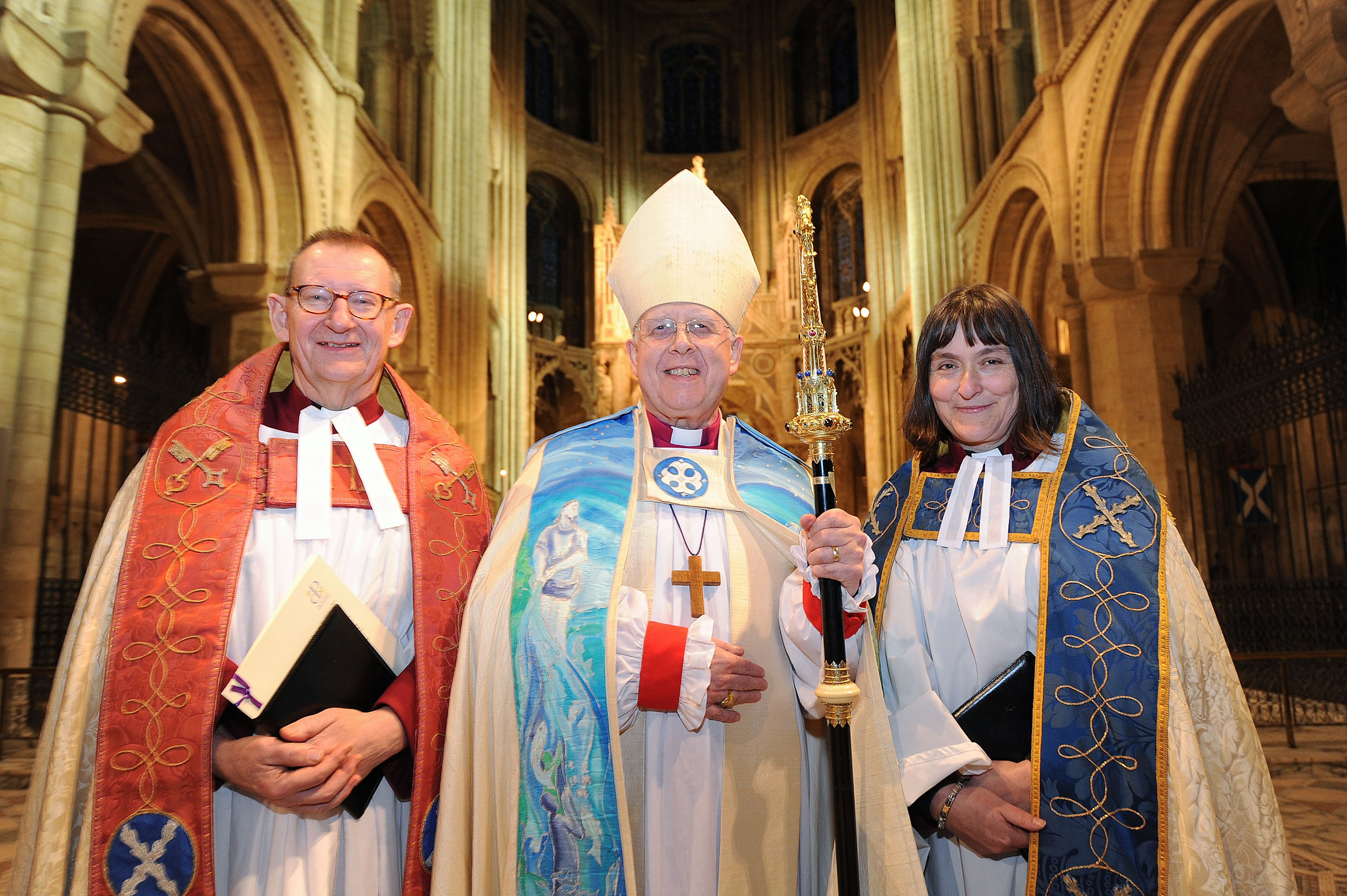 Sarah Brown is installed as Canon Missioner of Peterborough Cathedral
