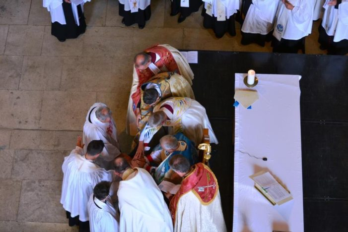 Ordinations of Priests and Deacons take place at Peterborough Cathedral