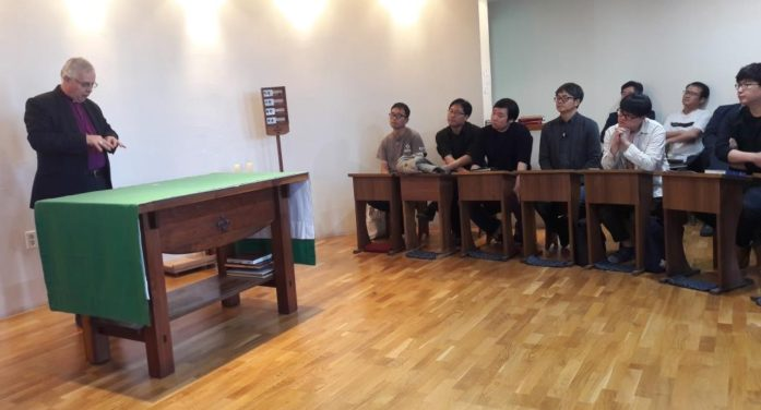 Korea trip strengthens the link between the Dioceses of Peterborough and Seoul