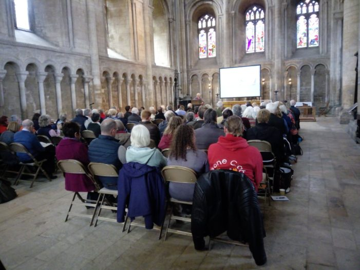 The 2019 Bishop's Bible Days begin at Peterborough Cathedral