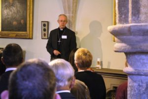 Archbishop Justin at the Interfaith Supper