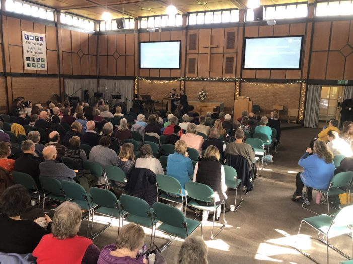 Over 150 people attend the Diocese of Peterborough's first mental health conference