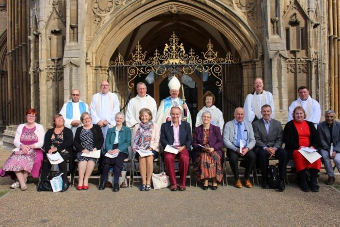 Celebration of Lay Ministry Day sees 11 new Lay Ministers licensed