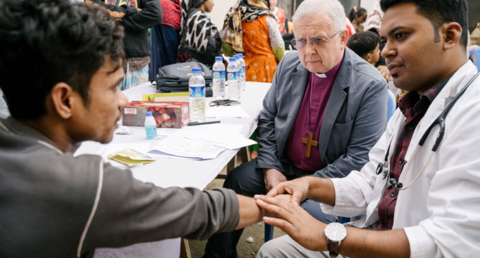 """Bishop Donald asks church leaders in Dhaka to """"finish what Jesus started"""" and end leprosy"""