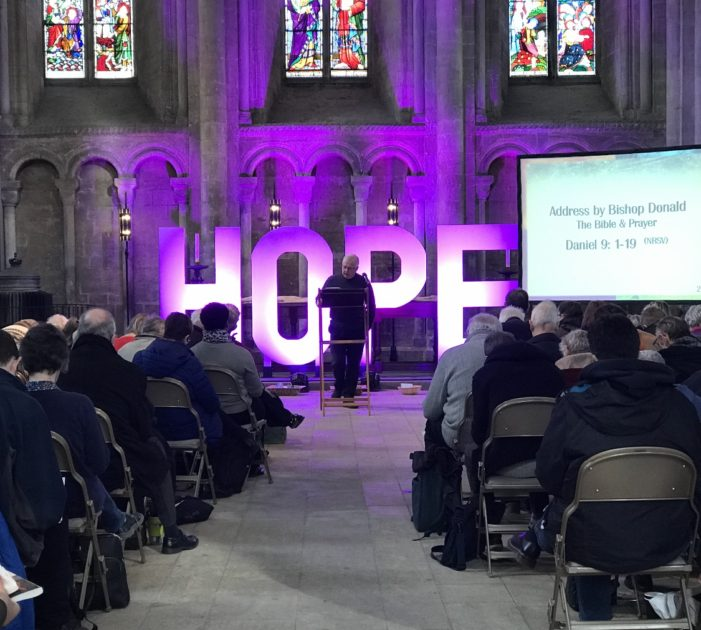Listen to Bishop Donald's talks from the Peterborough Bishop's Bible Day