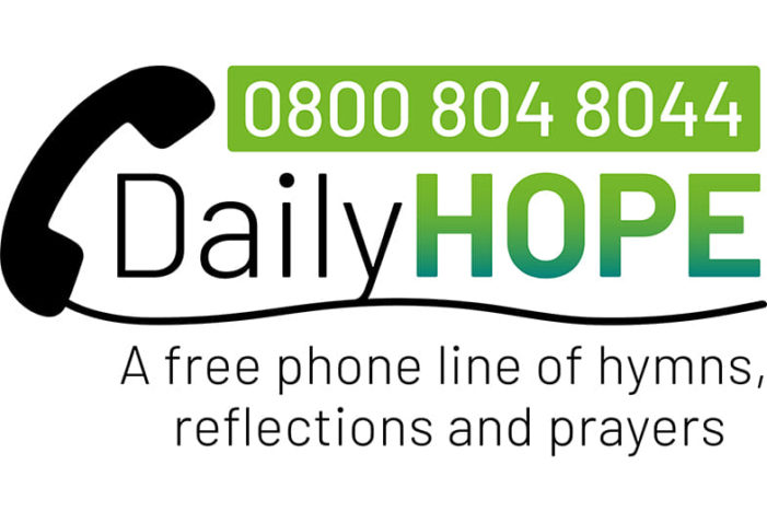Archbishop of Canterbury launches free Daily Hope worship and prayer phone line