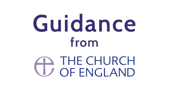Updated clarification on singing from the Church of England