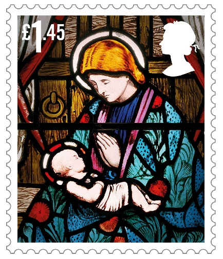 Hollowell parish church features in Royal Mail Christmas stamp collection