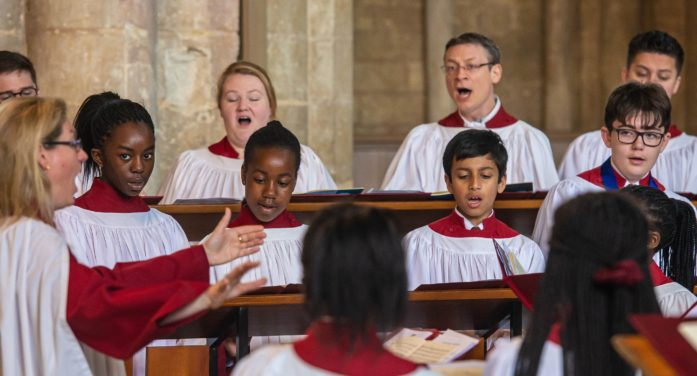 Cathedral choir recordings available for online Advent and Christmas services