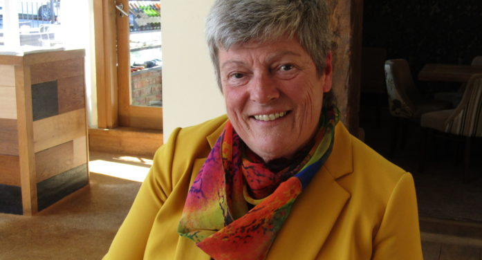 Working together to build God's Kingdom – a message from Jill Cannings (Mothers' Union Diocesan President)